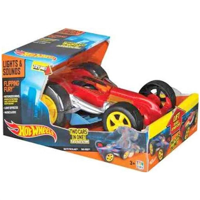 Hot Wheels Flipping Fury Sesli Ve Işıklı Araba