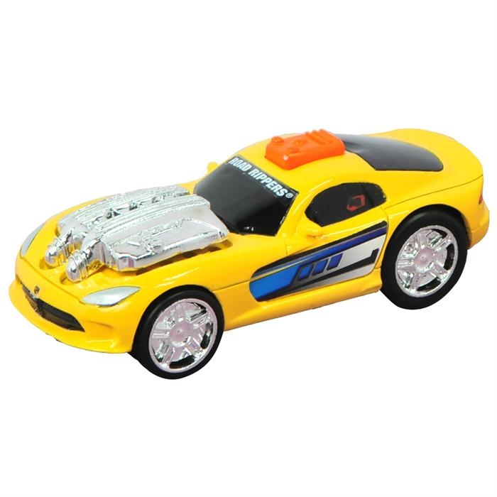 Road Rippers Sesli Ve Işıklı Mini Dodge Viper