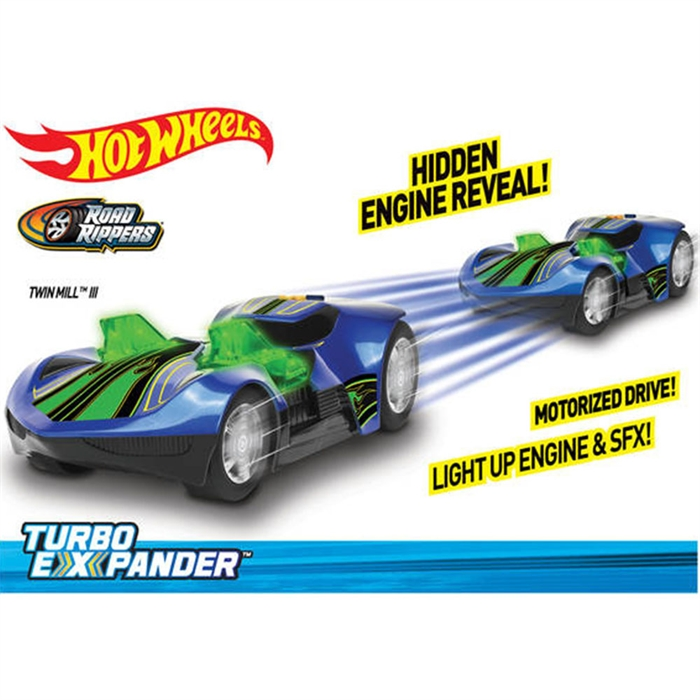 Hot Wheels Turbo Expander Twin Mill 3 Sesli Ve Işıklı Araba