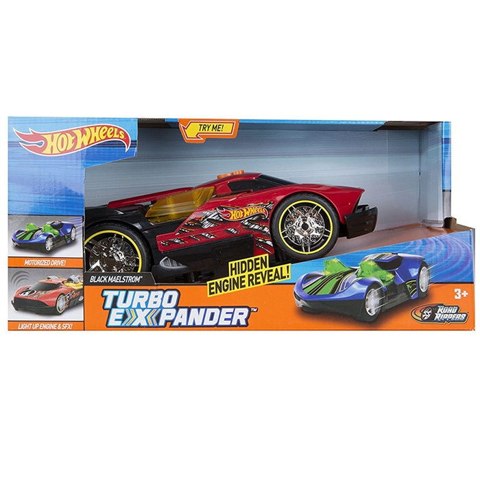 Hot Wheels Turbo Expander Black Maelstrom Sesli Ve Işıklı Araba