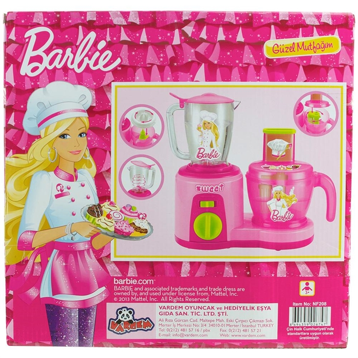 Barbie Mutfak Seti Model 3