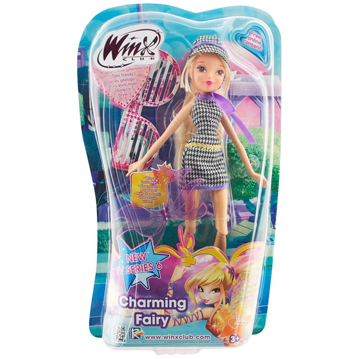 Winx Club Charming Fairy Stella Bebek
