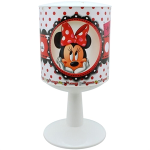 Minnie Mouse Pencereli Abajur