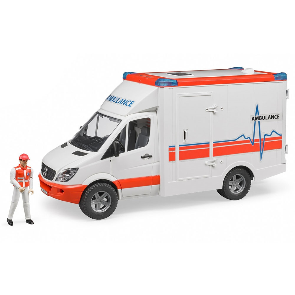 Bruder Mercedes Benz Sprinter Ambulans ve Ekibi