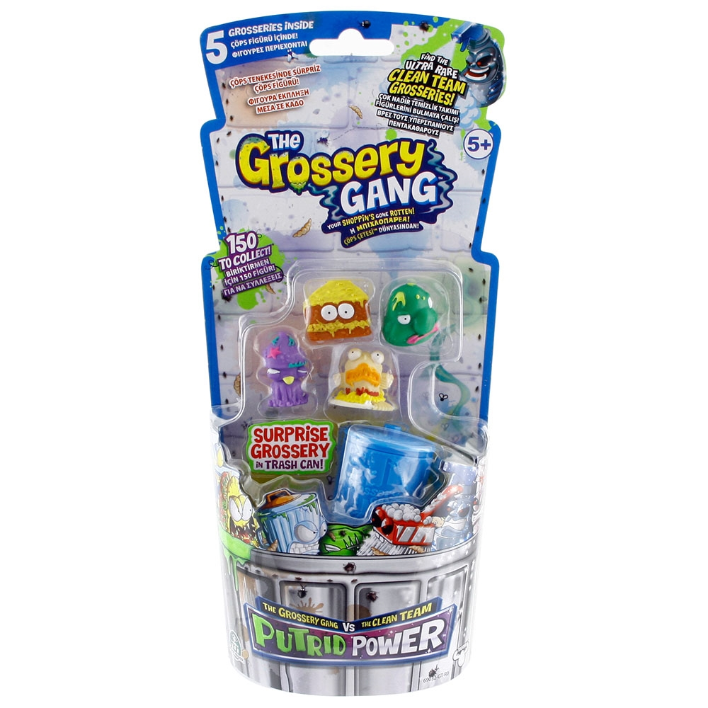 Trash Pack Çöps Çetesi Grossery Gang Orta Boy Çöps Paketi Model 1