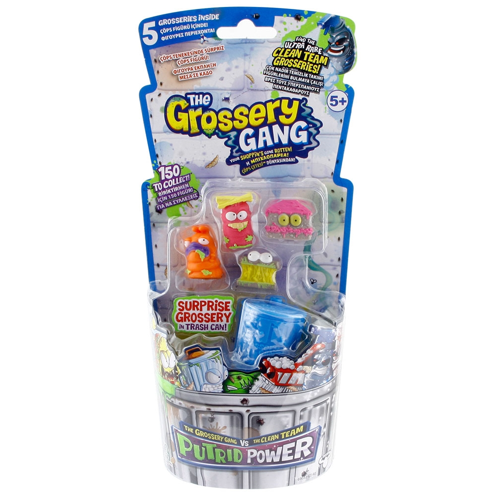 Trash Pack Çöps Çetesi Grossery Gang Orta Boy Çöps Paketi Model 7