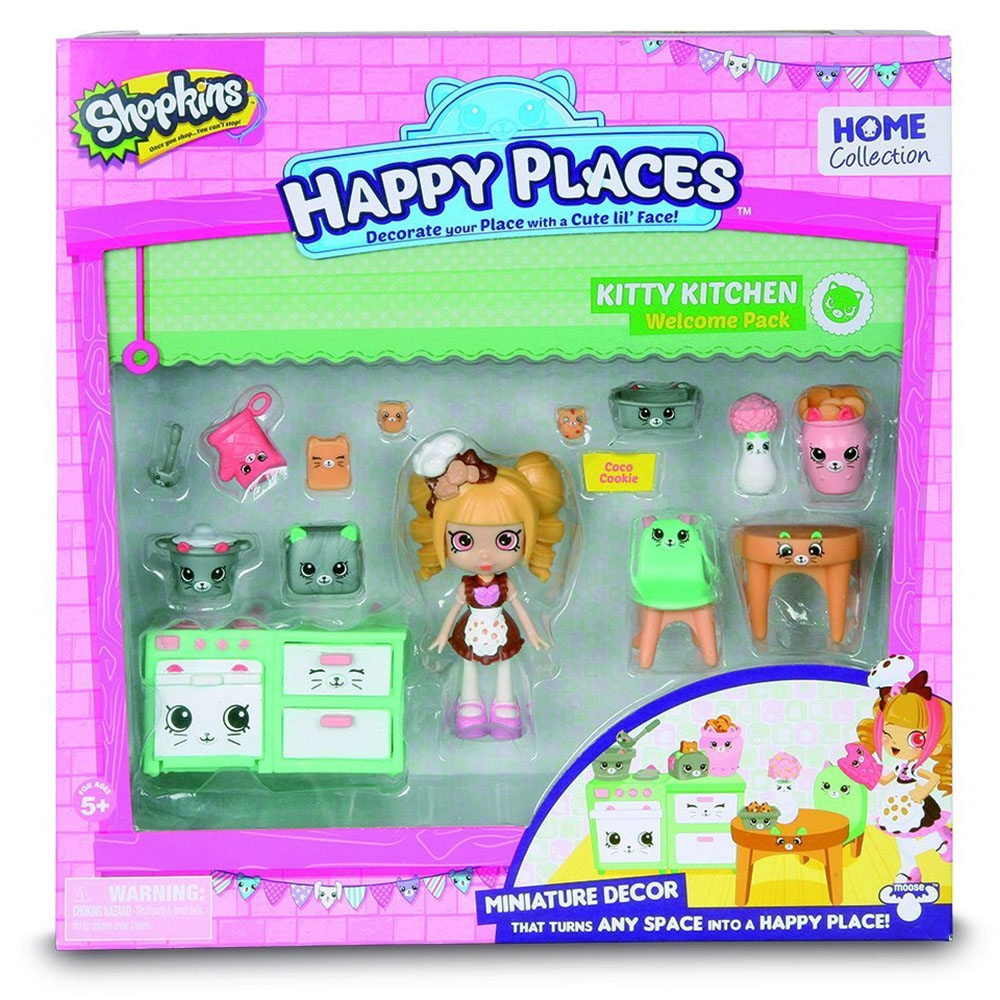 Cicibiciler Happy Places Kitty Kitchen Hoşgeldin Paketi