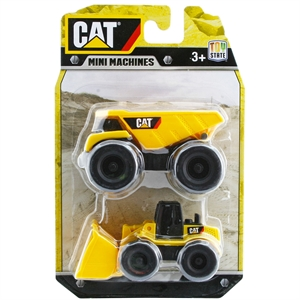 Cat Dump Truck ve Dozer 2'li Mini Araç