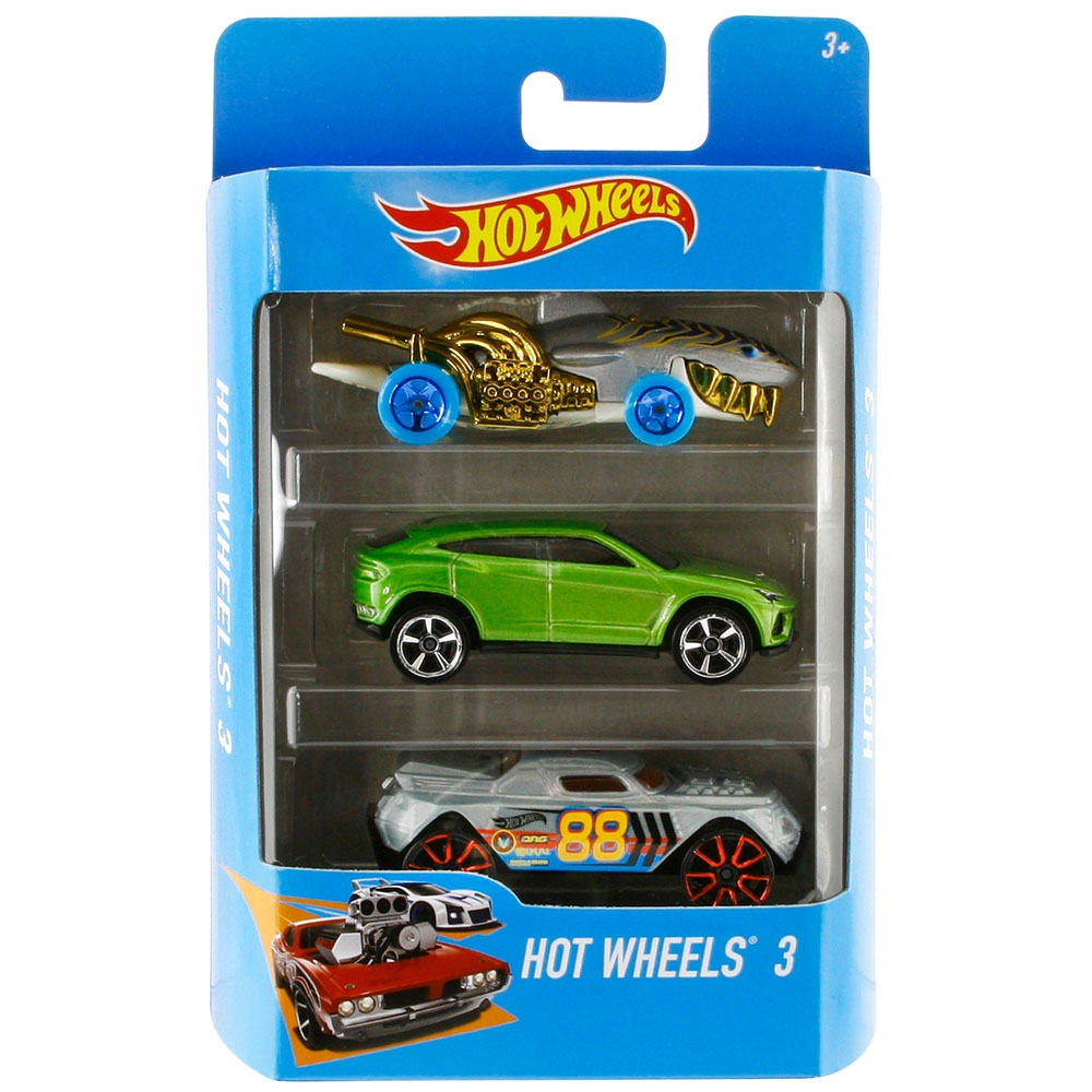 Hot Wheels Üçlü Araba Seti Model 46