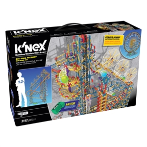 K'Nex Big Ball Factory Seti (Motorlu)Thrill Rides Knex 52443