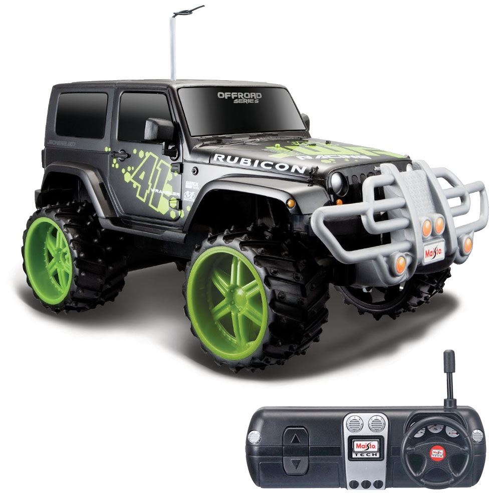 Off Road Jeep >> Maisto Tech 1 16 Off Road Jeep Wrangler Rubicon U K Araba Siyah