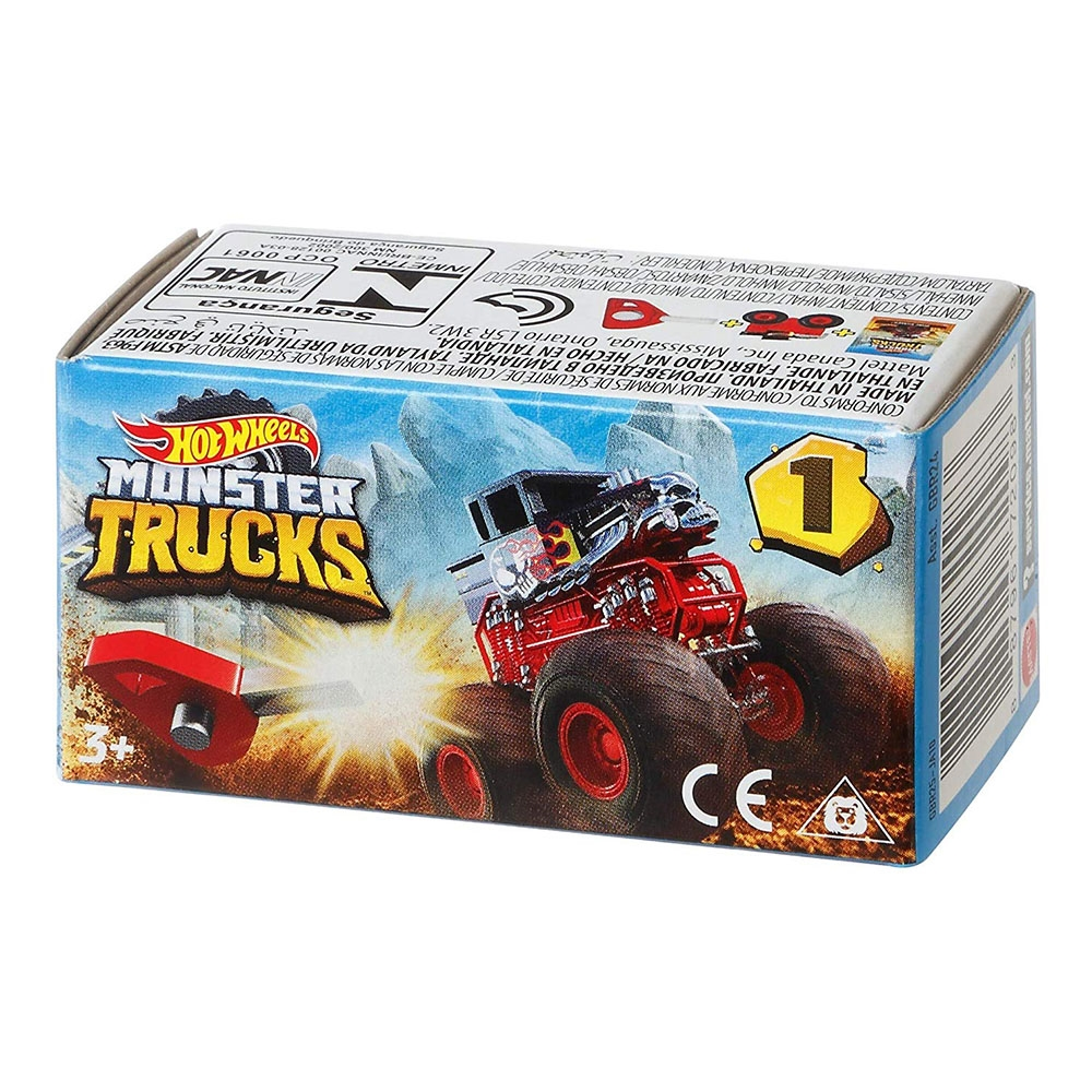 Monster Trucks Mini Arabalar Sürpriz Paket