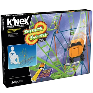 K'Nex Infinite Journey Roller Coaster Seti Thrill Rides Knex 1540