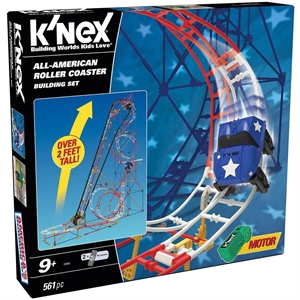 K'Nex All Star Adventure Roller Coaster Seti (Motorlu)Thrill Ride