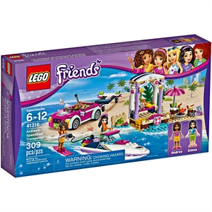 Lego Friends Andreas Speedboat 41316