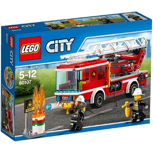 Lego City Fire Lad Truck 60107