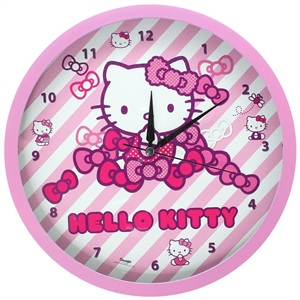 Hello Kitty Duvar Saati