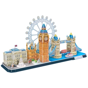 Cubic Fun 107 Parça Puzzle City Line London