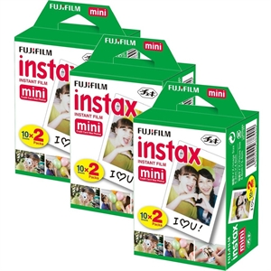Fujifilm Instax Mini 20'li Film 3'lü Set 60 Poz